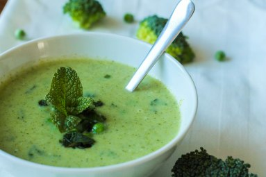 Broccoli kokos soep
